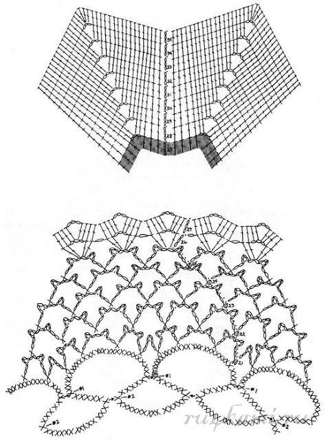 Схемы объемных салфеток