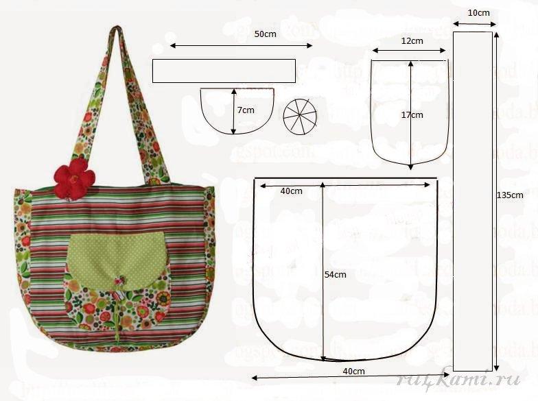 Красивые сумки своими руками пошив и мастер класс