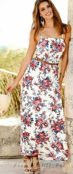 платье летнее длинное - Самое интересное в блогах