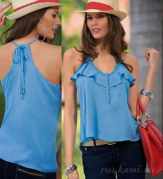 Простые выкройки блузок (Шитье и крой) Журнал Вдохновение