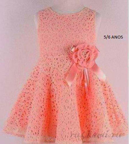 Платья для девочек 3-4 года своими руками