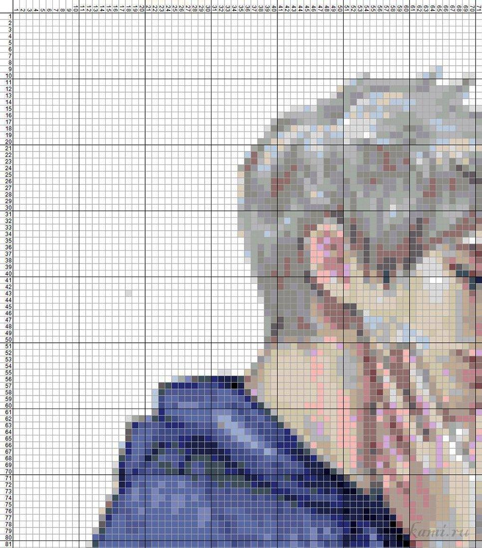 Схемы вышивок крестом девушка с парнем 362