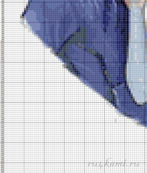 Схемы вышивки крестом для парня 38
