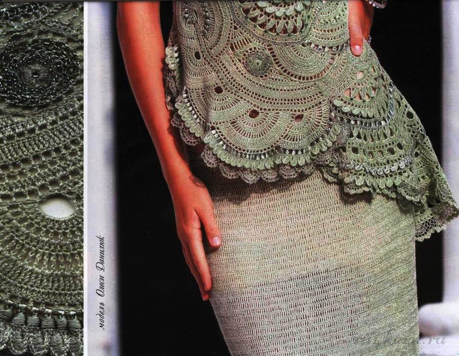 Асимметричная юбка своими руками