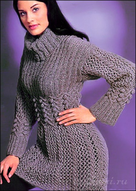 платье спицами | 4248238_1 (286x400, 178Kb