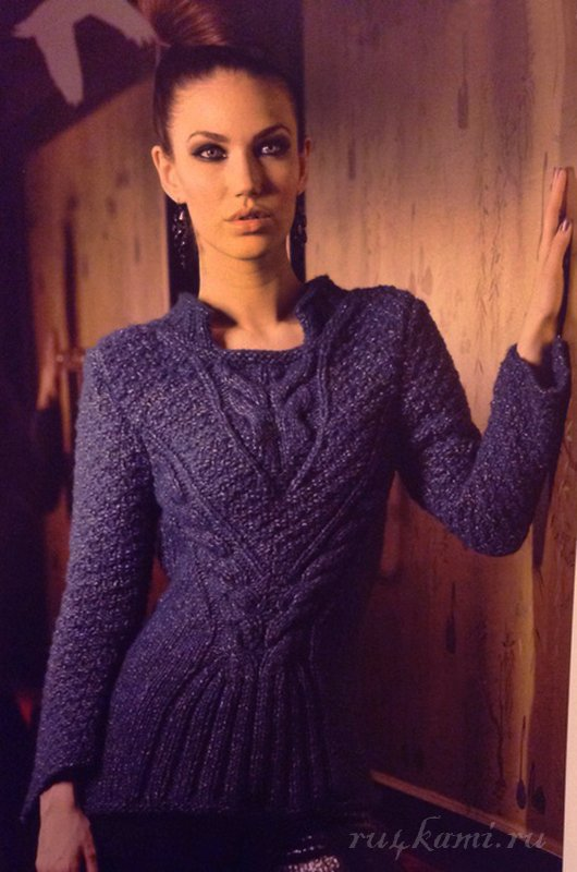 вязаный свитер спицами сайт ручками делаем вещи своими руками