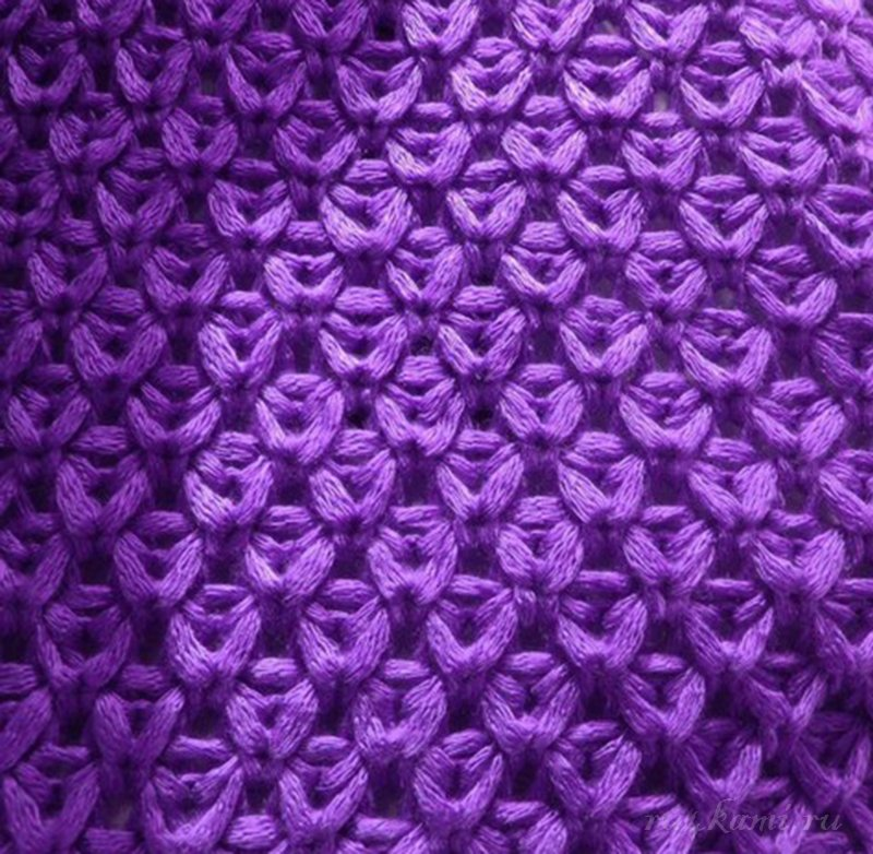 Вяжем узоры для юбки