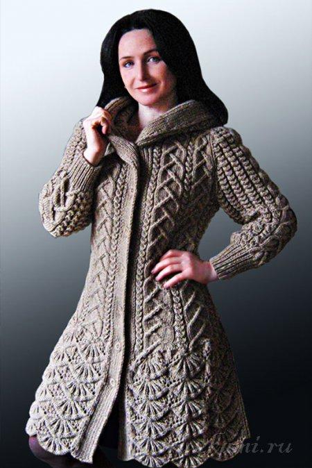 Метки: пальто женское спицами вязаное пальто вязание модели бесплатно.