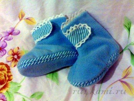 сапожки для малышей