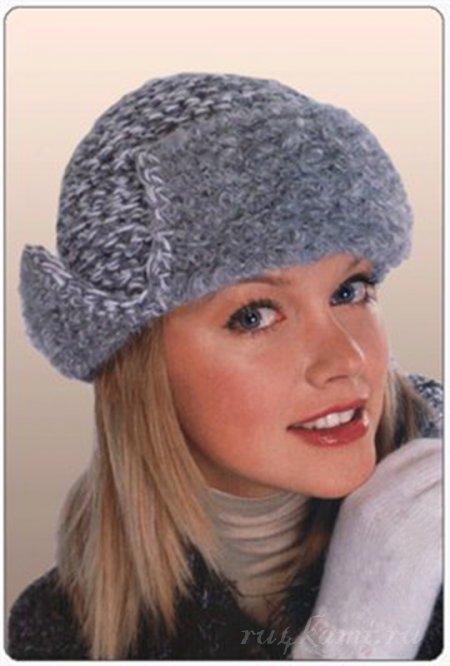 Вязание шапок на узелке вязание крючком шапки, схема вязания шапок. . Шапочка Рейтинг10, Шарф - Шапка-ушанка