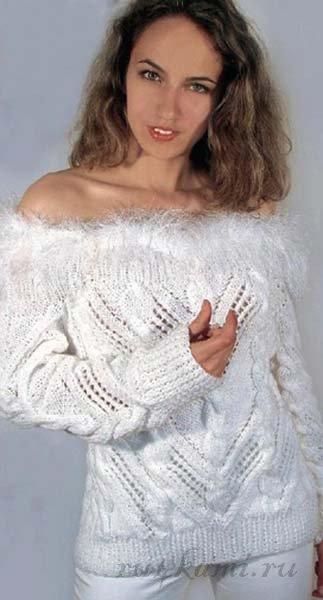 Фантазийный Пуловер