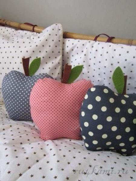 Выкройки декоративных подушек своими руками фото