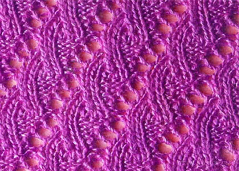 На этой странице Вы найдете бесплатные образцы узоров ажурного вязания на спицах с их