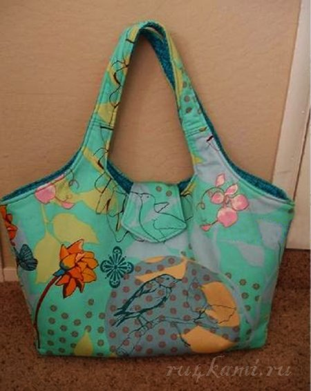 Шьем сами красивую сумку 1. подробнее. шитье,шьем,шьем сами,шьем сумку,сумка,шьйм сумку выкройка,сумка выкройка