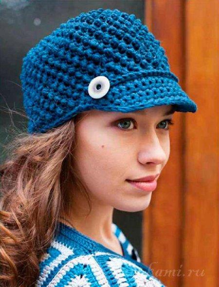Женская шапка спицами своими руками