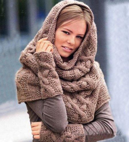 Хомут шарф своими руками все 97
