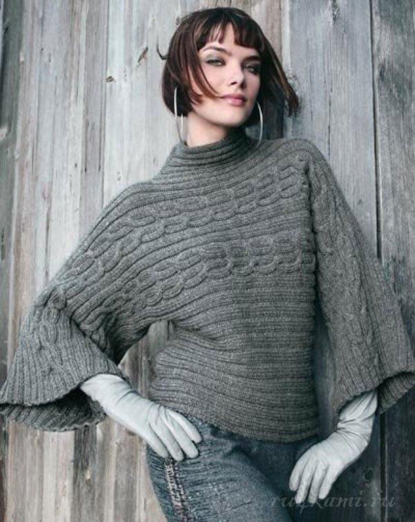 Интересный пуловер