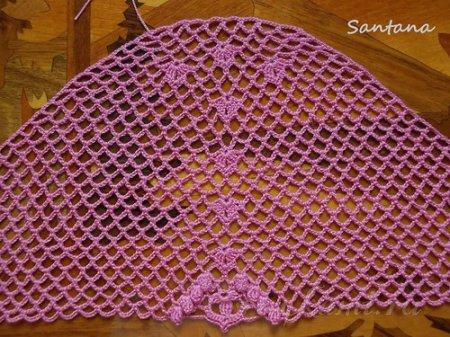 "КОСТЮМ ""МАЛИНОВЫЙ КОКТЕЙЛЬ"" от Santana-crocheting"